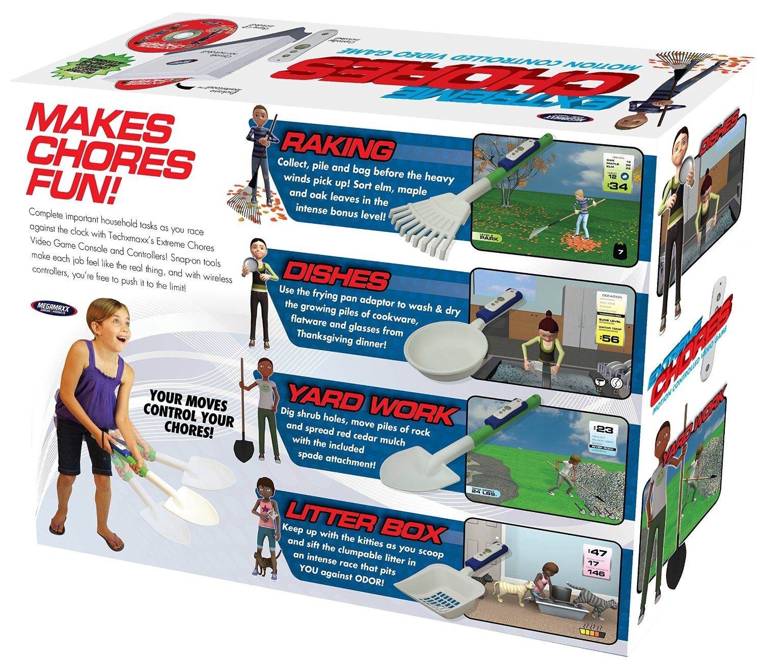 Extreme Chores Prank Video Game Gift Box